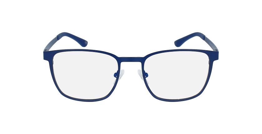Lunettes de vue homme MAGIC 42 bleu - Vue de face