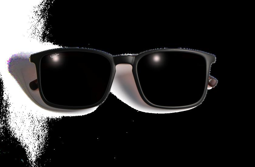 Lunettes de soleil homme SILVIO noir/écaille - danio.store.product.image_view_face