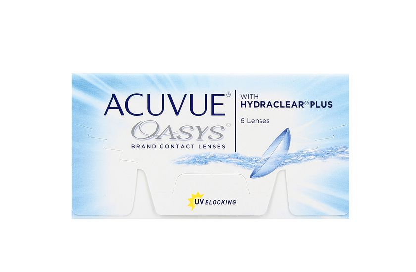 Lentilles de contact Acuvue® Oasys® with Hydraclear® Plus 6L - danio.store.product.image_view_face