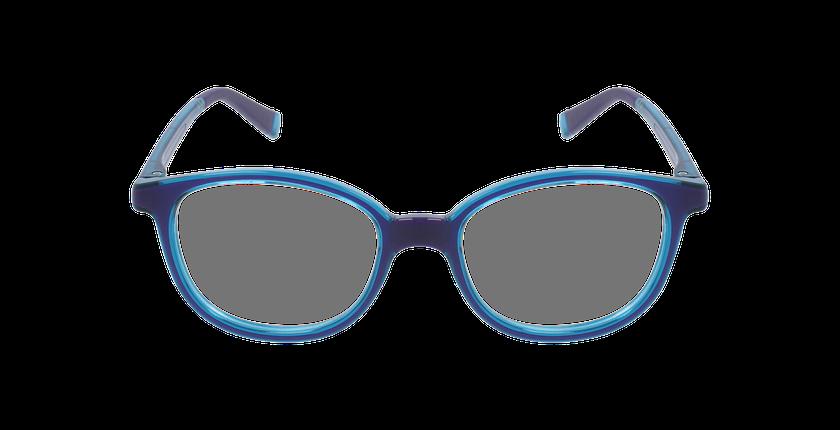 Lunettes de vue enfant RFOM1 violet/turquoise - Vue de face
