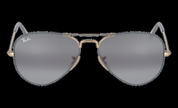 Lunettes de soleil homme AVIATOR L gris/doré - danio.store.product.image_view_face
