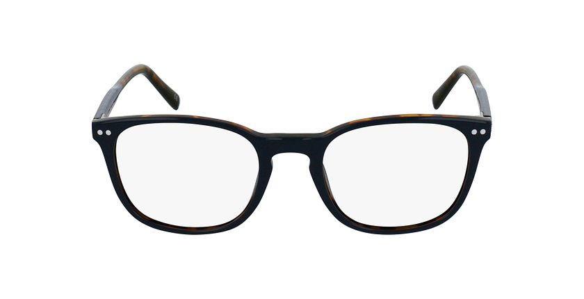 Lunettes de vue VERDI bleu/écaille - Vue de face