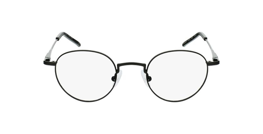Lunettes de vue CLEO noir - Vue de face