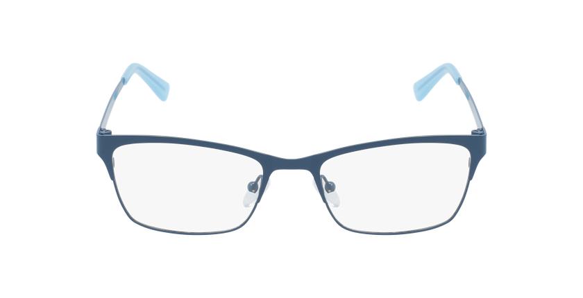 Lunettes de vue femme RZERO9 bleu - Vue de face