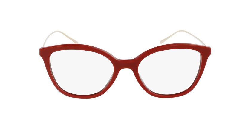 Lunettes de vue femme 0PR 11VV rouge - Vue de face