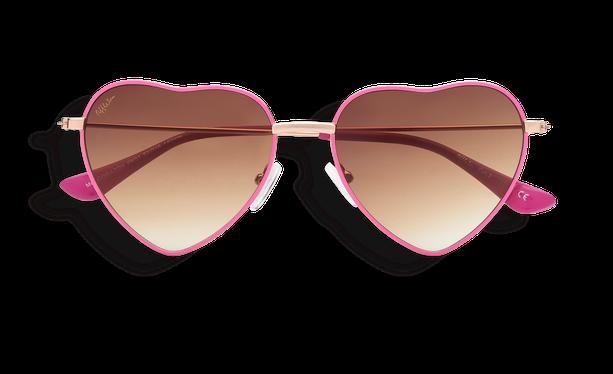 Lunettes de soleil femme CORAZON rose - danio.store.product.image_view_face
