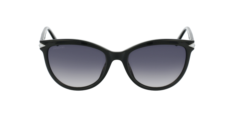 Lunettes de soleil femme SK0233 noirVue de face