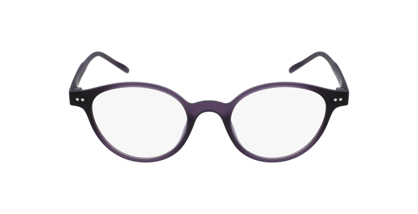 Lunettes de vue femme MAGIC 49 violet - Vue de face