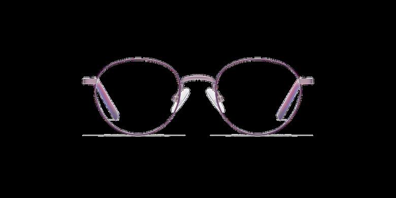 Lunettes de vue enfant DOM violet/roseVue de face