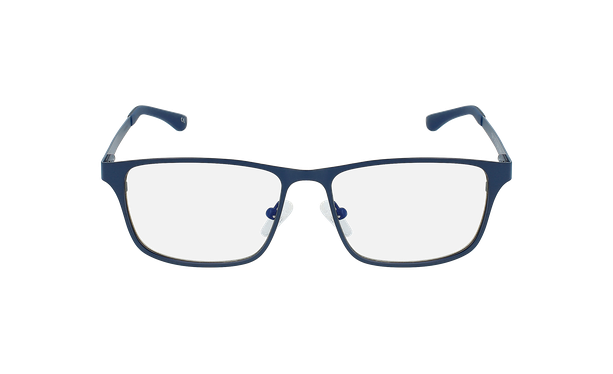 Lunettes de vue homme MAGIC 41 bleu - Vue de face