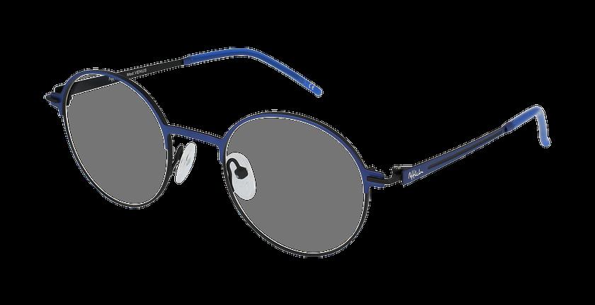 Lunettes de vue femme VENUS bleu/noir - vue de 3/4