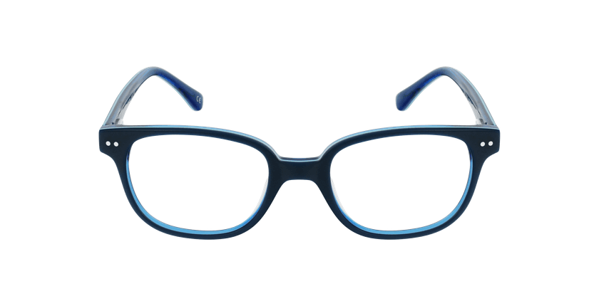 Lunettes de vue enfant MARCEL bleu - Vue de face
