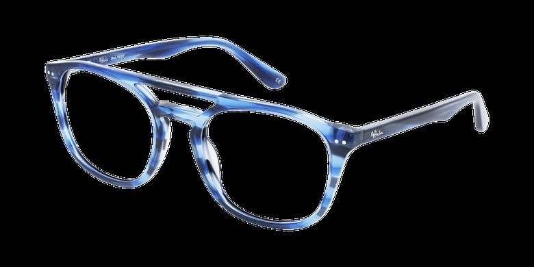 Lunettes de vue homme REMY écaille/bleu