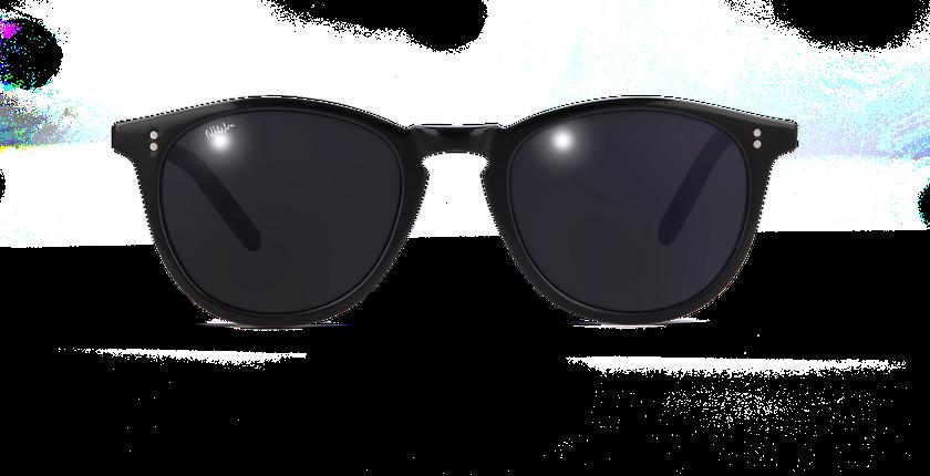 Lunettes de soleil femme SYDNEY noir - Vue de face