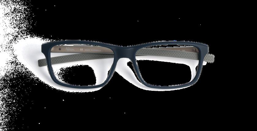 Lunettes de vue homme ERIC bleu - Vue de face