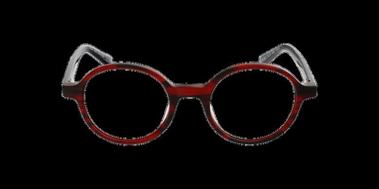 Lunettes de vue femme CAPUCINE rouge