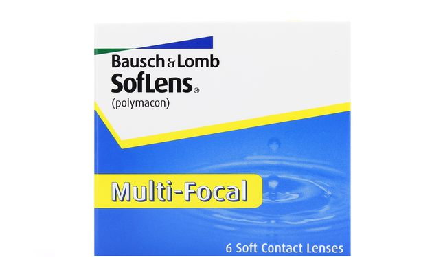 Lentilles de contact SofLens Multifocal 6L - Vue de face
