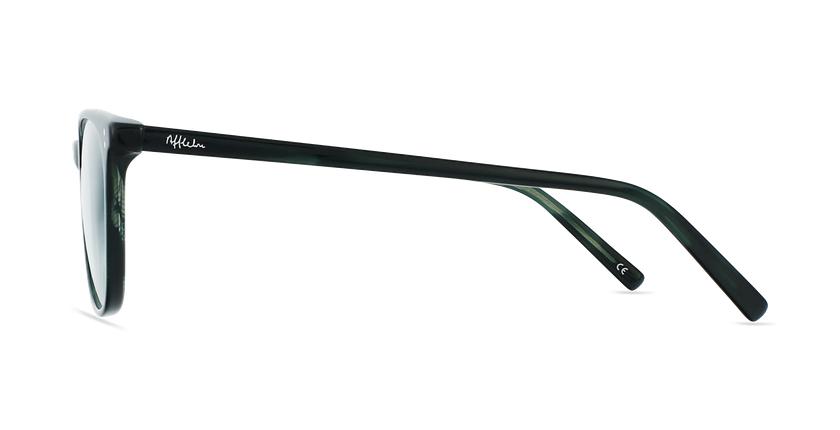 Lunettes de vue homme MAXENCE vert - Vue de côté