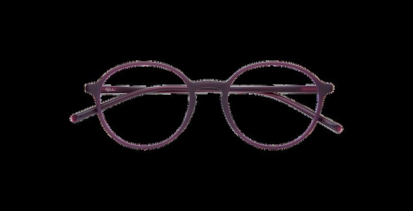 Lunettes de vue homme LIGHT TONIC violet - Vue de face