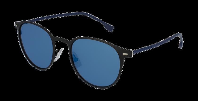 Lunettes de soleil homme 1008/S noir/bleu - vue de 3/4