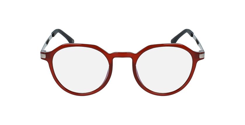 Lunettes de vue femme MAGIC 39 rouge - Vue de face