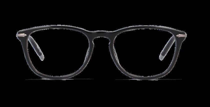 Lunettes de vue homme BOLTON noir - Vue de face