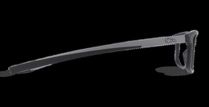 Lunettes de vue homme ALBERTO noir - Vue de côté