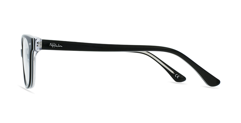 Lunettes de vue enfant MARCEL noir - Vue de côté