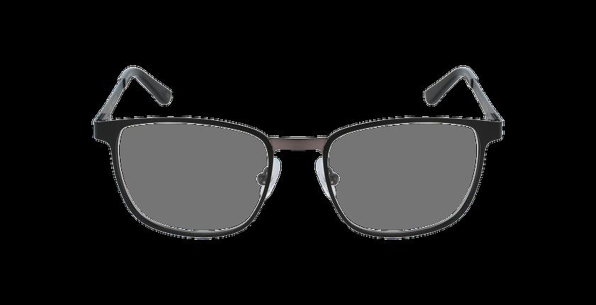 Lunettes de vue homme GILDAS noir/gris - Vue de face
