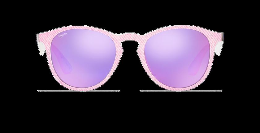 Lunettes de soleil femme VARESE rose - Vue de face