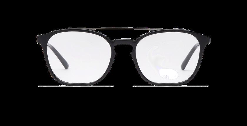 Lunettes de vue homme CLOVIS noir - Vue de face