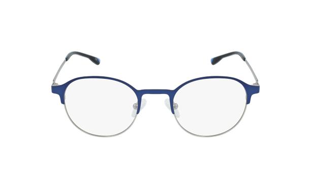 Lunettes de vue homme MAGIC 53 bleu/gris - Vue de face