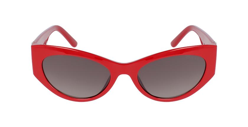 Lunettes de soleil femme GU7624 rouge - Vue de face
