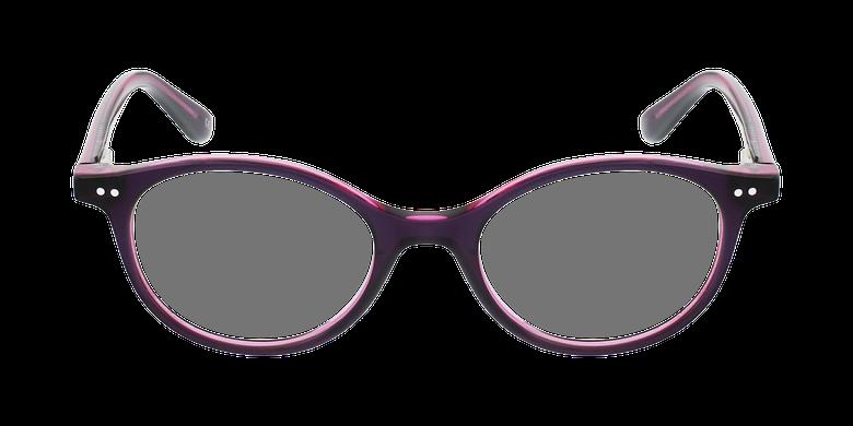 Lunettes de vue enfant CAPUCINE violet/roseVue de face