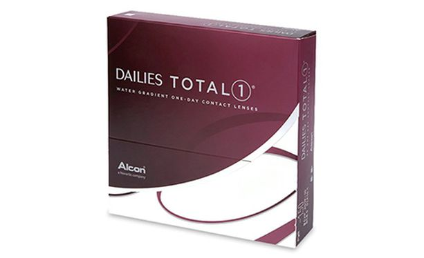 Lentilles de contact Dailies Total 1 90L - Vue de face