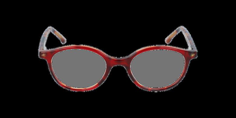 Lunettes de vue enfant DANCE rouge/écaille