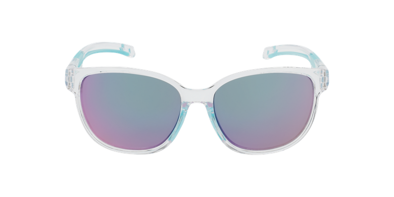 Lunettes de soleil femme Windy cristal/turquoise