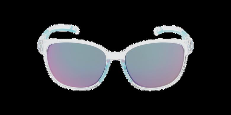 Lunettes de soleil femme Windy cristal/turquoiseVue de face
