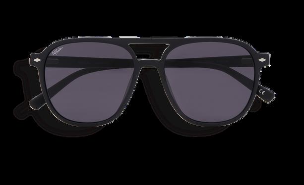 Lunettes de soleil homme LUC noir - danio.store.product.image_view_face