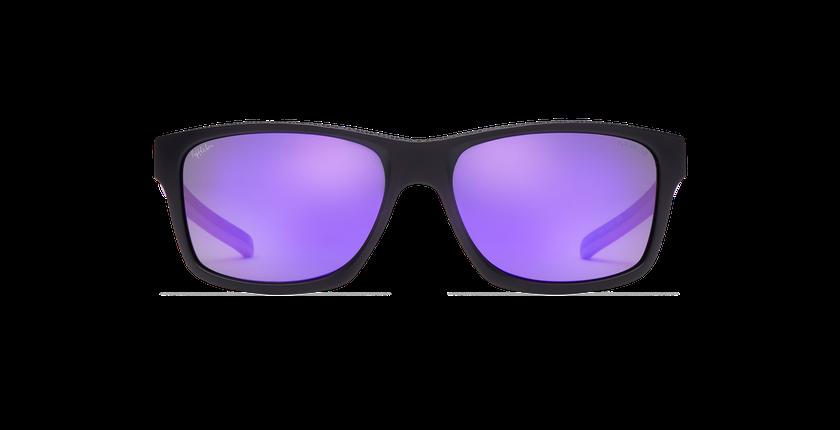 Lunettes de soleil femme JACKY noir/violet - Vue de face