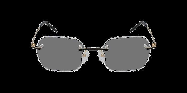 Lunettes de vue femme IDEALE-10 doré/noir