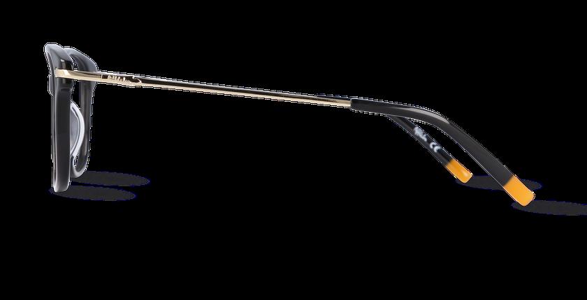 Lunettes de vue femme CHESTER noir - Vue de côté
