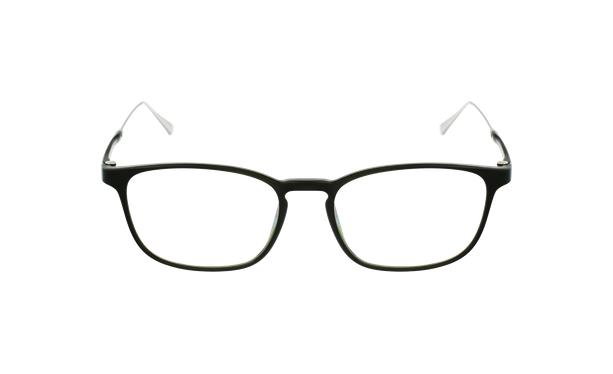 Lunettes de vue homme MAGIC 68 vert/argenté - Vue de face