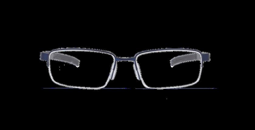 Lunettes de vue homme FABIEN bleu - Vue de face