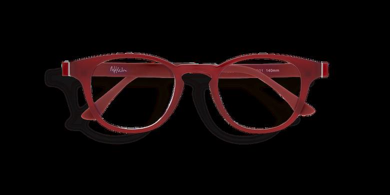 Lunettes de vue homme MAGIC 03 rouge