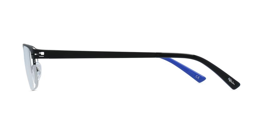 Lunettes de vue homme DAN noir - Vue de côté