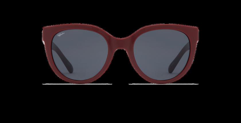 Lunettes de soleil femme CECILIA rouge - Vue de face