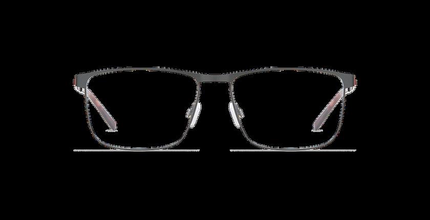Lunettes de vue homme ALPHA18 gris - Vue de face