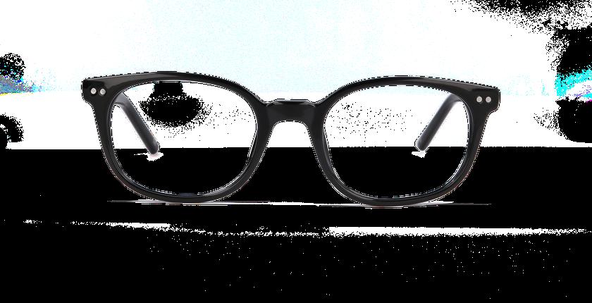 Lunettes de vue femme STEPHANIE noir - Vue de face