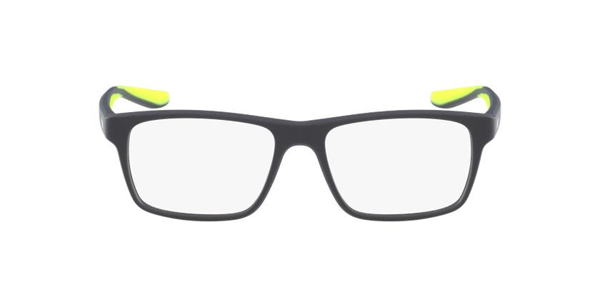 Lunettes de vue homme 7101 gris/jaune - Vue de face